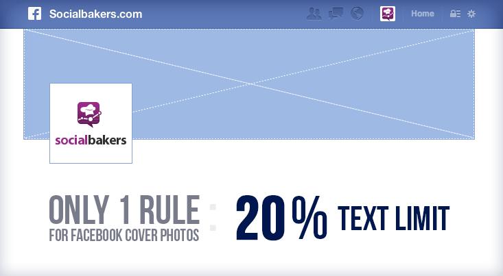 ... mas, para isso, tem que caber no espaço máximo de 20% de texto.
