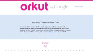 Fim do Orkut 1
