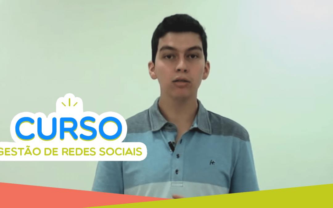 Nova turma do Curso Gestão de Redes Sociais