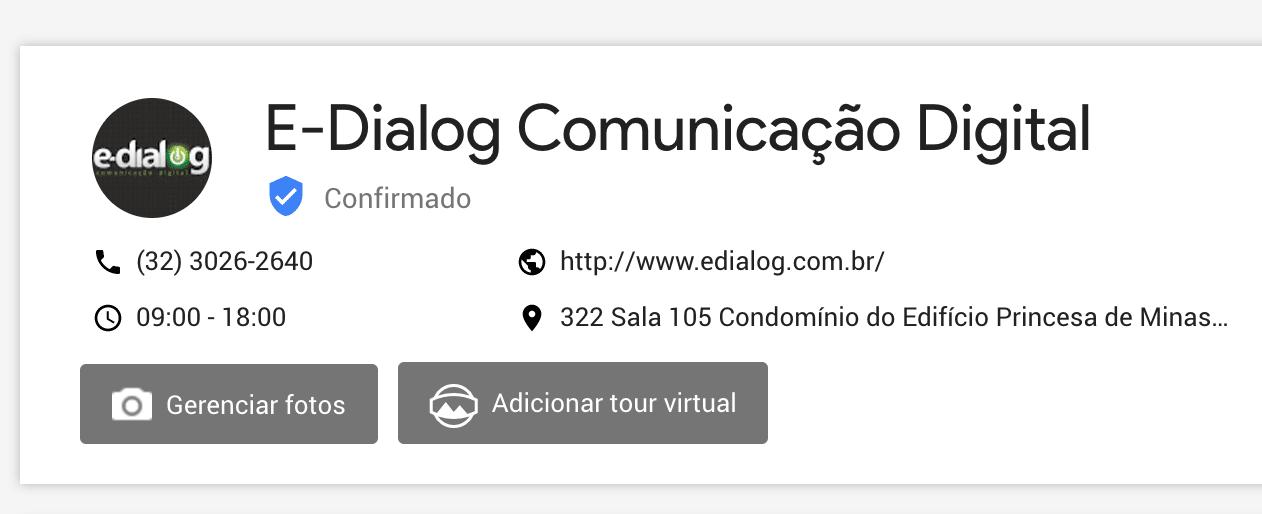 Tour virtual google meu negócio