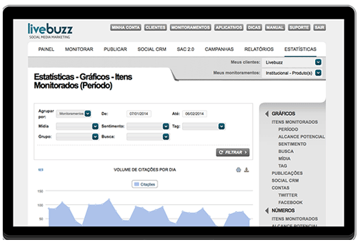 Ferramenta Dinamize monitora diversas redes sociais