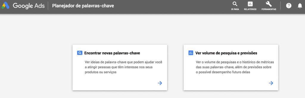 Terceira imagem do passo a passo de quanto custa anunciar no Google