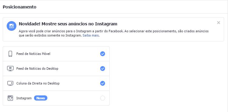 Posicionamento - Passo a passo de como anunciar no Instagram
