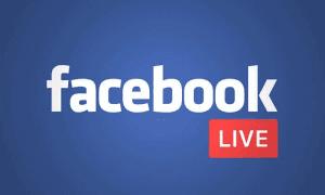 Transmissão ao vivo: Facebook
