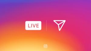 Transmissão ao vivo: Instagram