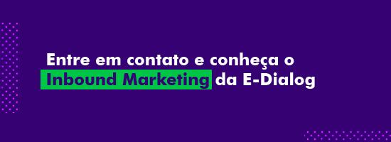 """Banner no artigo """"O que é Inbound Marketing"""" para contato"""